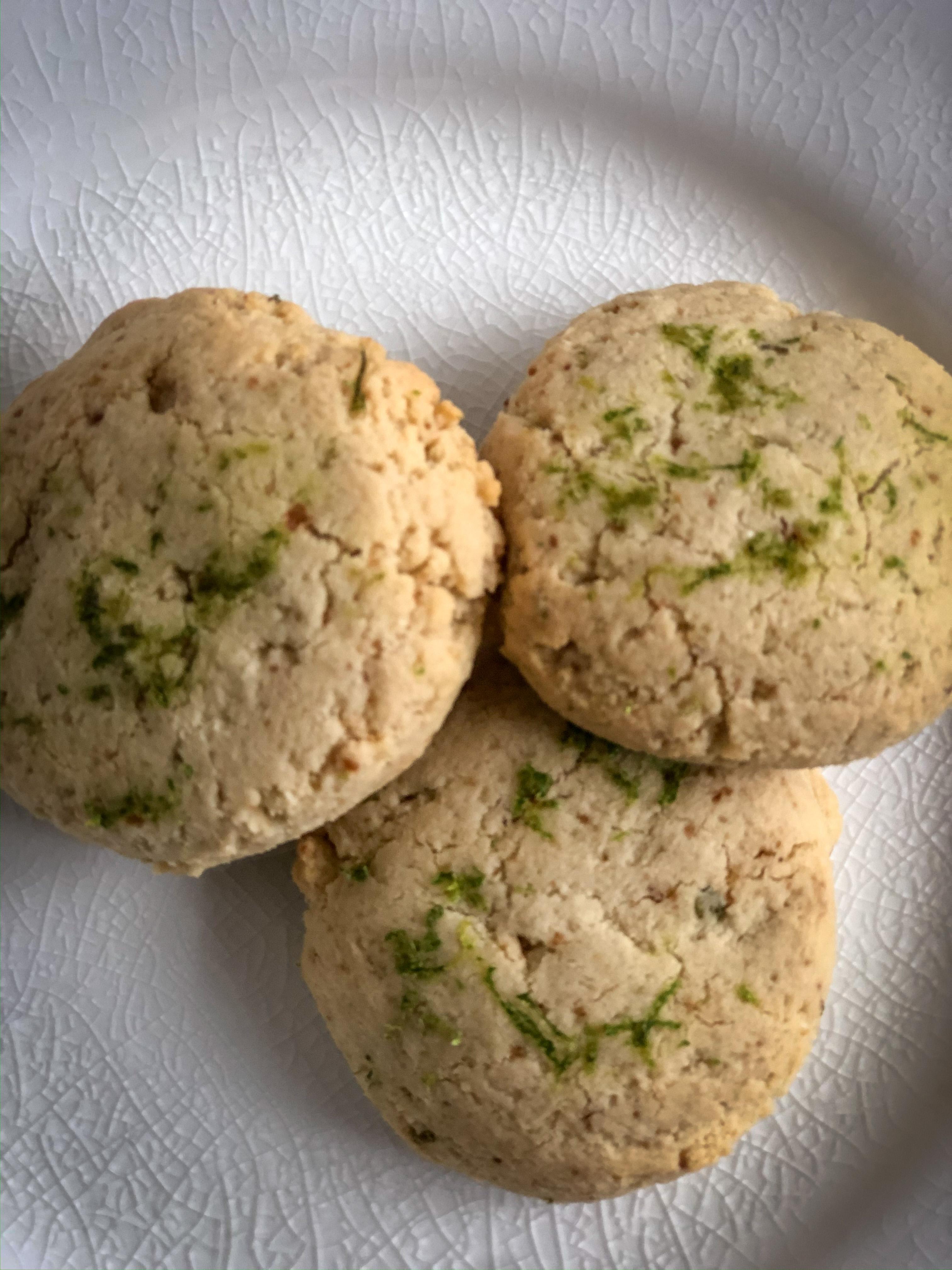 Bolinhos de Shortbread de limão - crianças de junk food 1