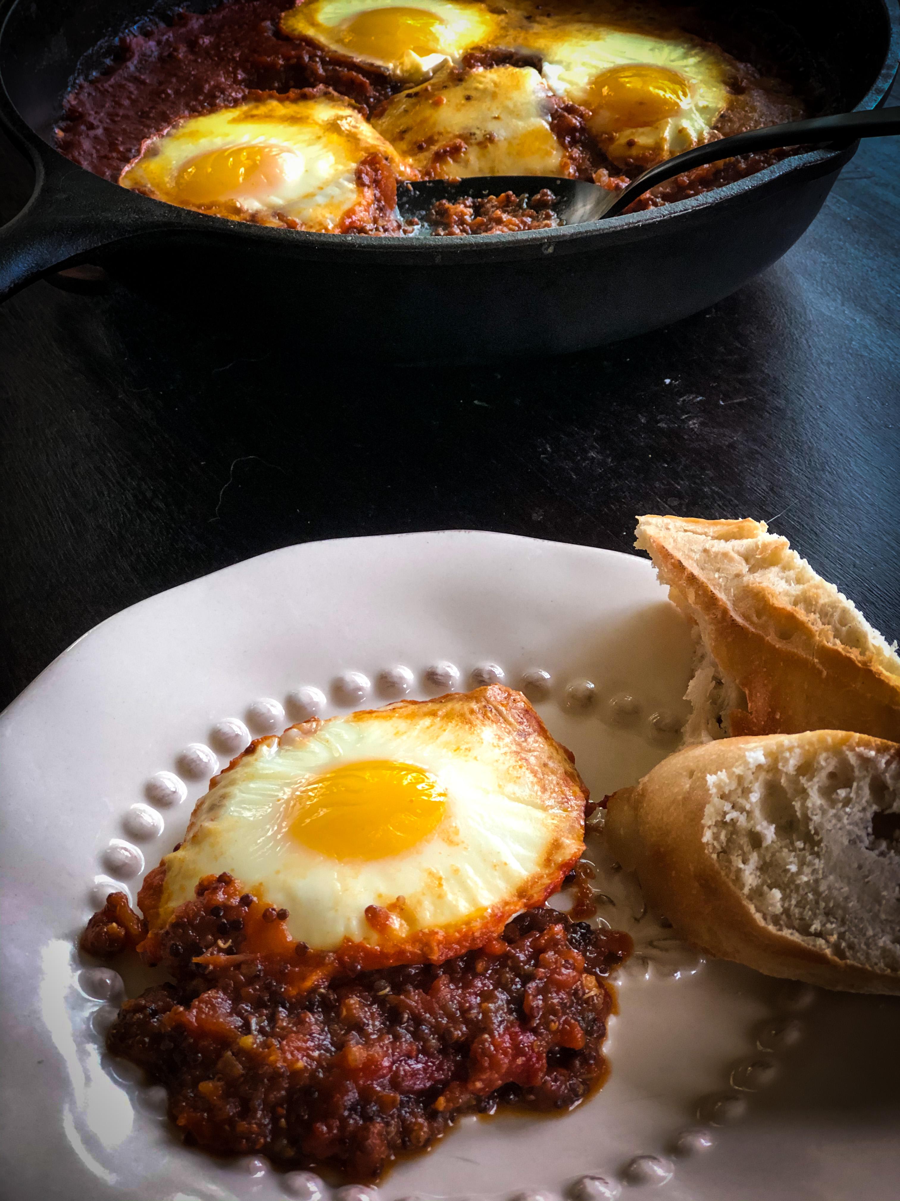Ovos cozidos italianos - crianças de junk food 1